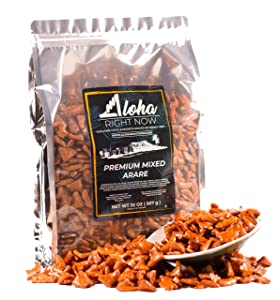 Aloha Right Now Premium Mixed Arare Rice Crackers Mochi Crunch Japanese Hawaiian Style Asian Snack Mix (2lb (pack of 1))