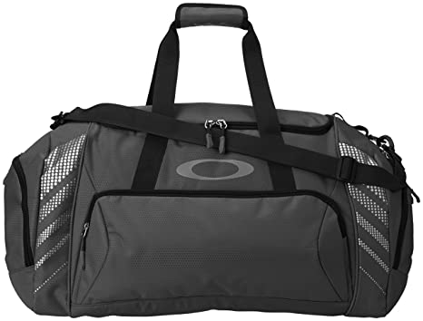 oakley bags zqe4  Oakley Men's 85L Large Sport Duffel Bag, Black, One Size