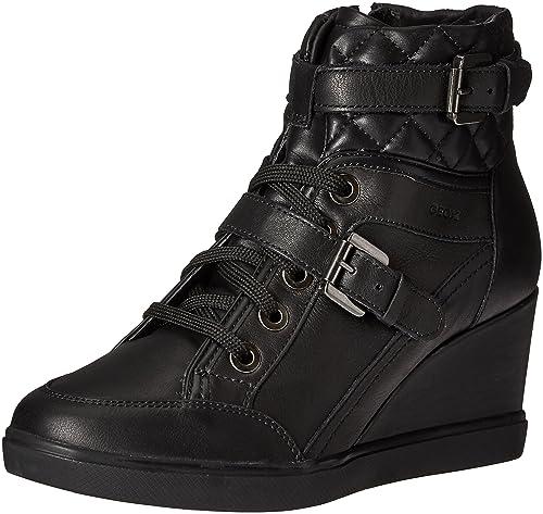 Geox D7267C021BV, Zapatillas Altas Mujer: Amazon.es: Zapatos y complementos