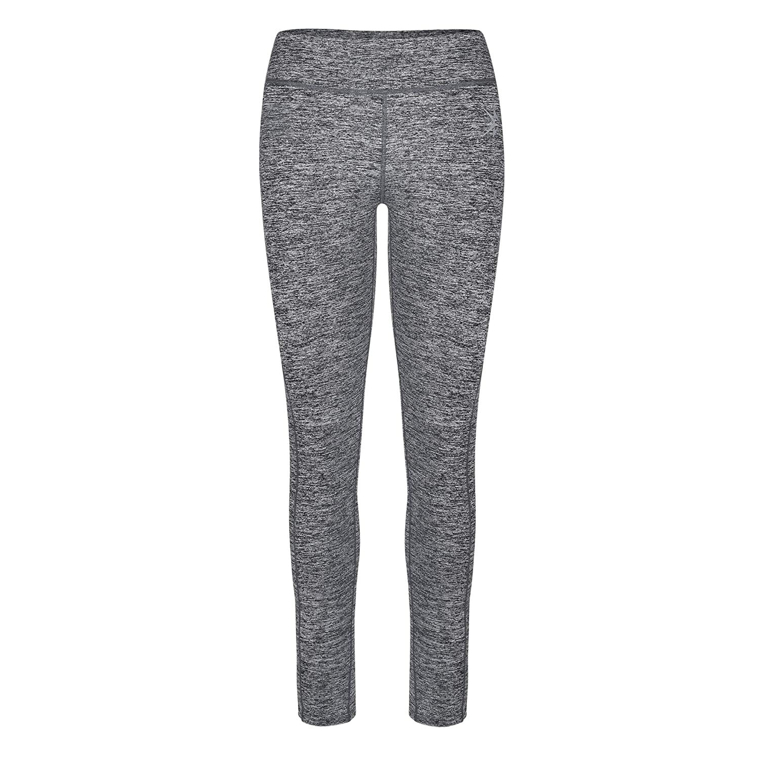 Gray Includes Two Side Hip Pockets The Keep Going Womens Leggings KGB Running