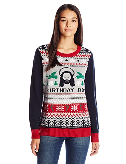 Amazoncom Ugly Christmas Sweater Company Womens Birthday Boy