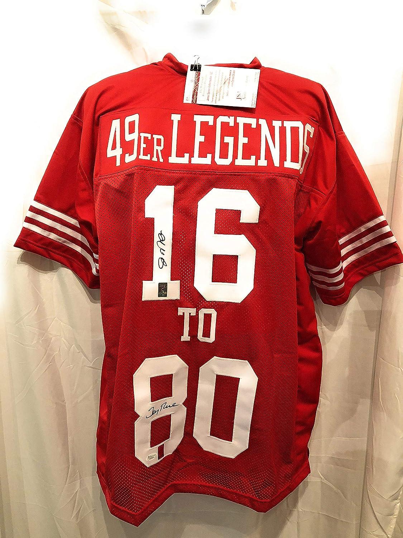 superior quality af499 801fb Joe Montana Jerry Rice San Fransico 49ers Dual Signed ...