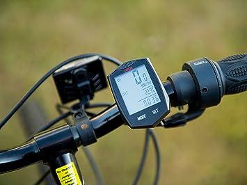 bicycle speedometer by aspa, multi function accurate bike odometer