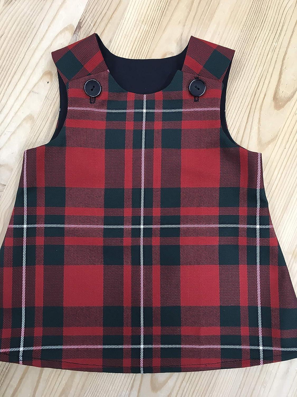 low price arrives wholesale Babies Tartan Pinafore Dress, MacGregor Tartan: Amazon.co.uk ...