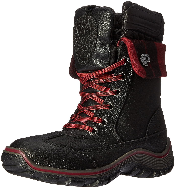 Pajar Women's Alice Native Snow Boot B01B63HMWI 36 EU/5-5.5 M US|Black/Red