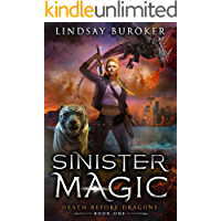 Sinister Magic: An Urban Fantasy Dragon Series (Death Before Dragons Book 1) book cover