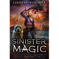 Sinister Magic: An Urban Fantasy Dragon Series (Death Before Dragons Book 1) (English Edition)