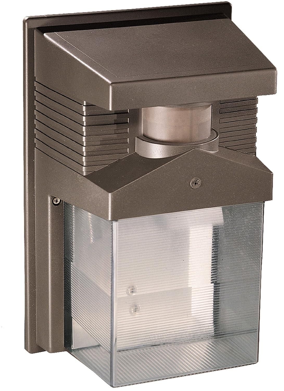 Heath/Zenith SL-5630-BZ-D 180-Degree Halogen Motion-Sensing Security Light, Bronze