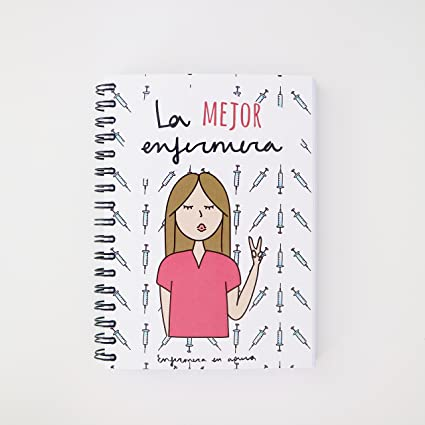 Enfermera en Apuros LIA6LM00 - Libreta, A6