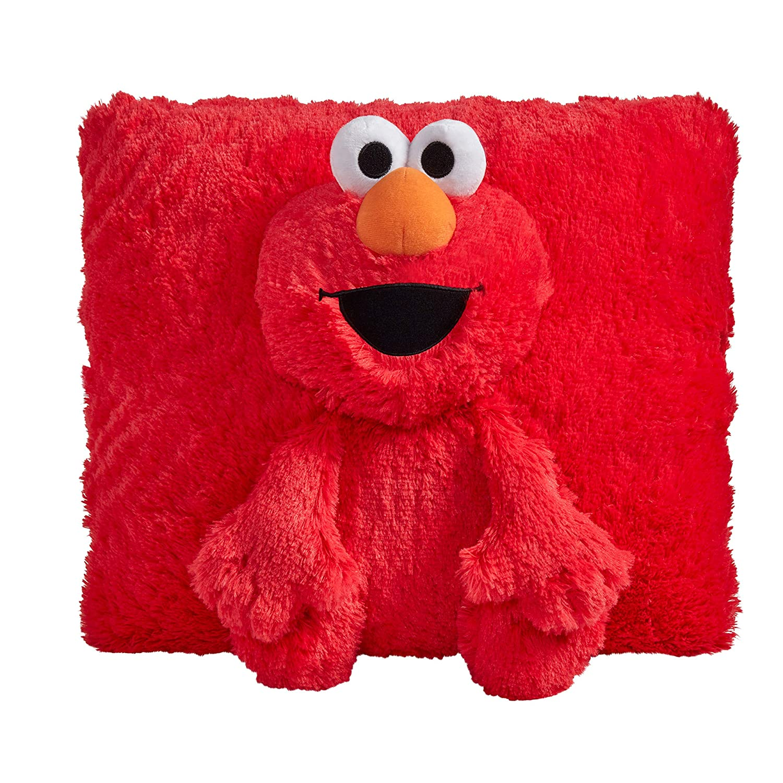 "Pillow Pets Sesame Street Elmo 16"" Stuffed Animal Plush"