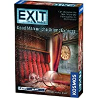 Thames & Kosmos 694029 Exit The Game Dead Man On The Orient Express Family Card Games