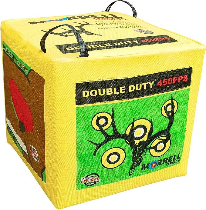 Best Archery Target : Morrell Double Duty 450FPS Field Point Archery Target