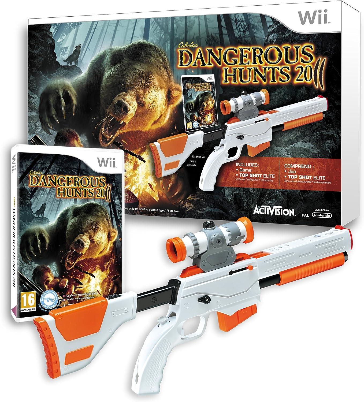 Cabelas Dangerous Hunts 2011 with Top Shot Elite [Importación francesa]: Amazon.es: Videojuegos