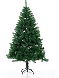 beauty life christmas tree premium artificial christmas pine tree with solid metal legstree skirtmanual instruction - Outdoor Artificial Christmas Trees