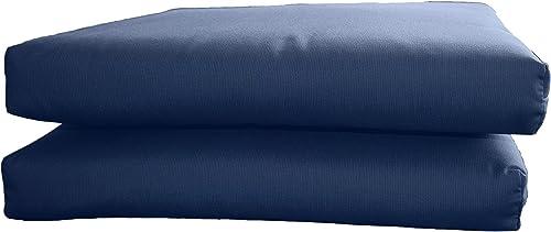 BHG PU2018B2018 Sunbrella Designer Seat Cushions-Knife Edge 2 Pack