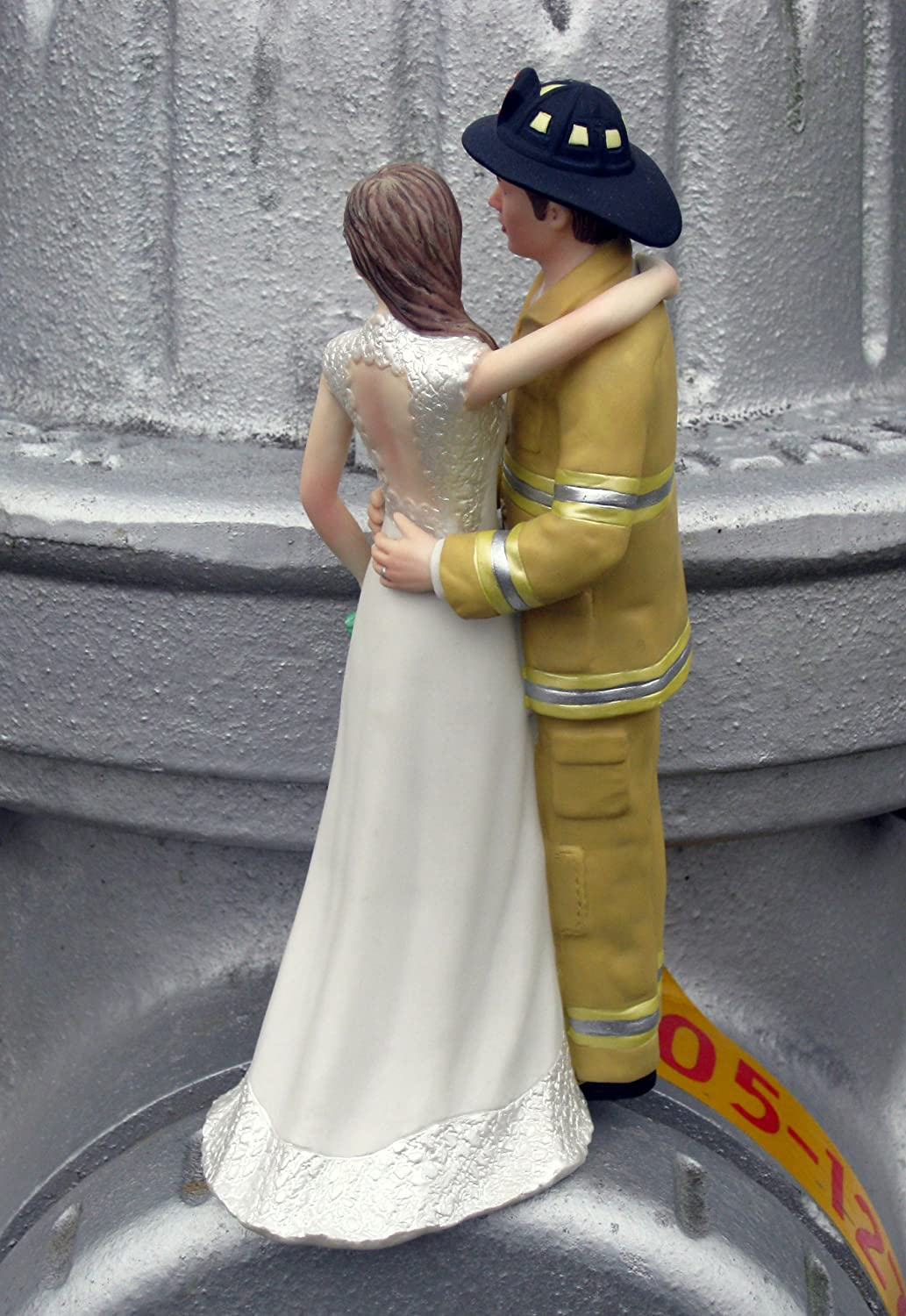 Amazon.com: Firefighter Cake Topper - Tan: Kitchen & Dining