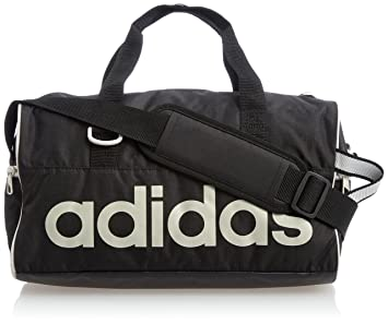 f342051c6f adidas Unisex s Linear Performance Team Bag Pearl Grey Black