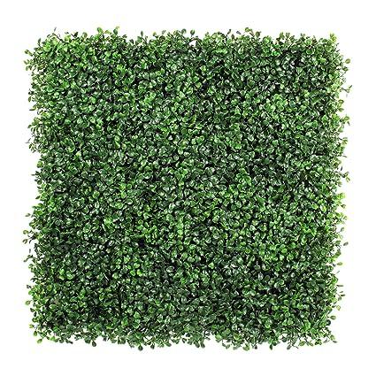 Amazon.com: ULAND Artificial Hedges Panels, Boxwood Greenery Ivy ...