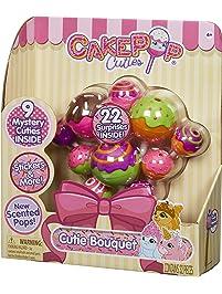 Basic Fun CakePop Cuties - CakePop Bouquet – Squishies – Includes 25 Surprises!