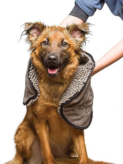 Amazoncom Dog Gone Smart Dirty Dog Shammy Grey