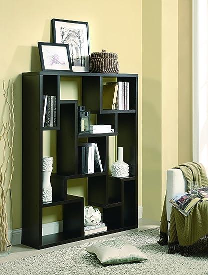 Coaster Home Furnishings 9 Shelf Bookcase Cappuccino
