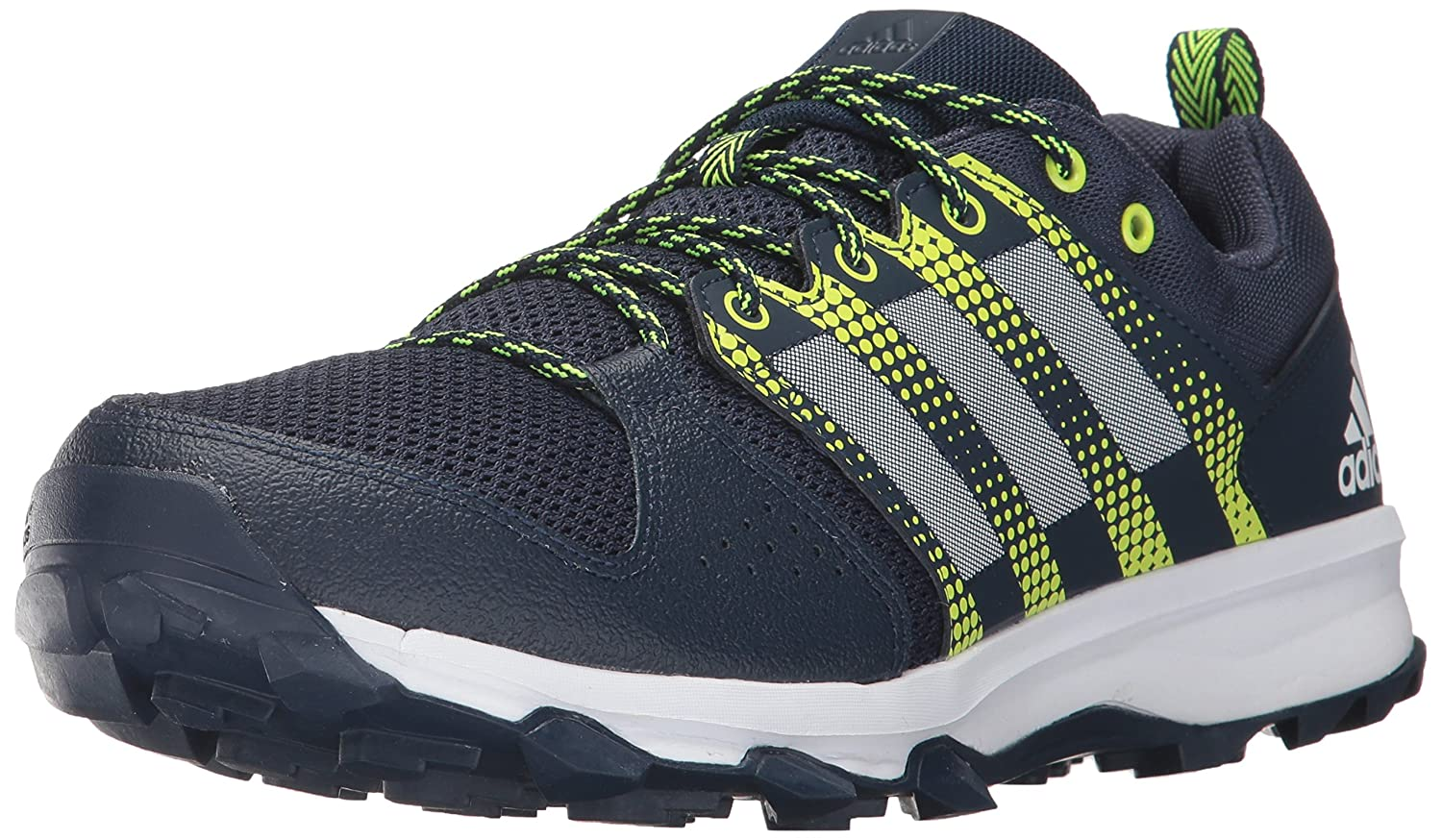 adidas Men's Galaxy M Trail Runner B01MY0SWGB 15 D(M) US|Collegiate Navy/White/Solar Yellow