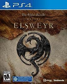 The Elder Scrolls Online: Elsweyr - PlayStation 4     - Amazon com
