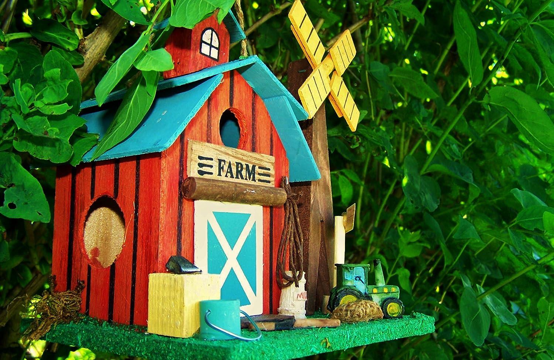 H/üw/ükn/ü Vogelhaus Kleine Farm