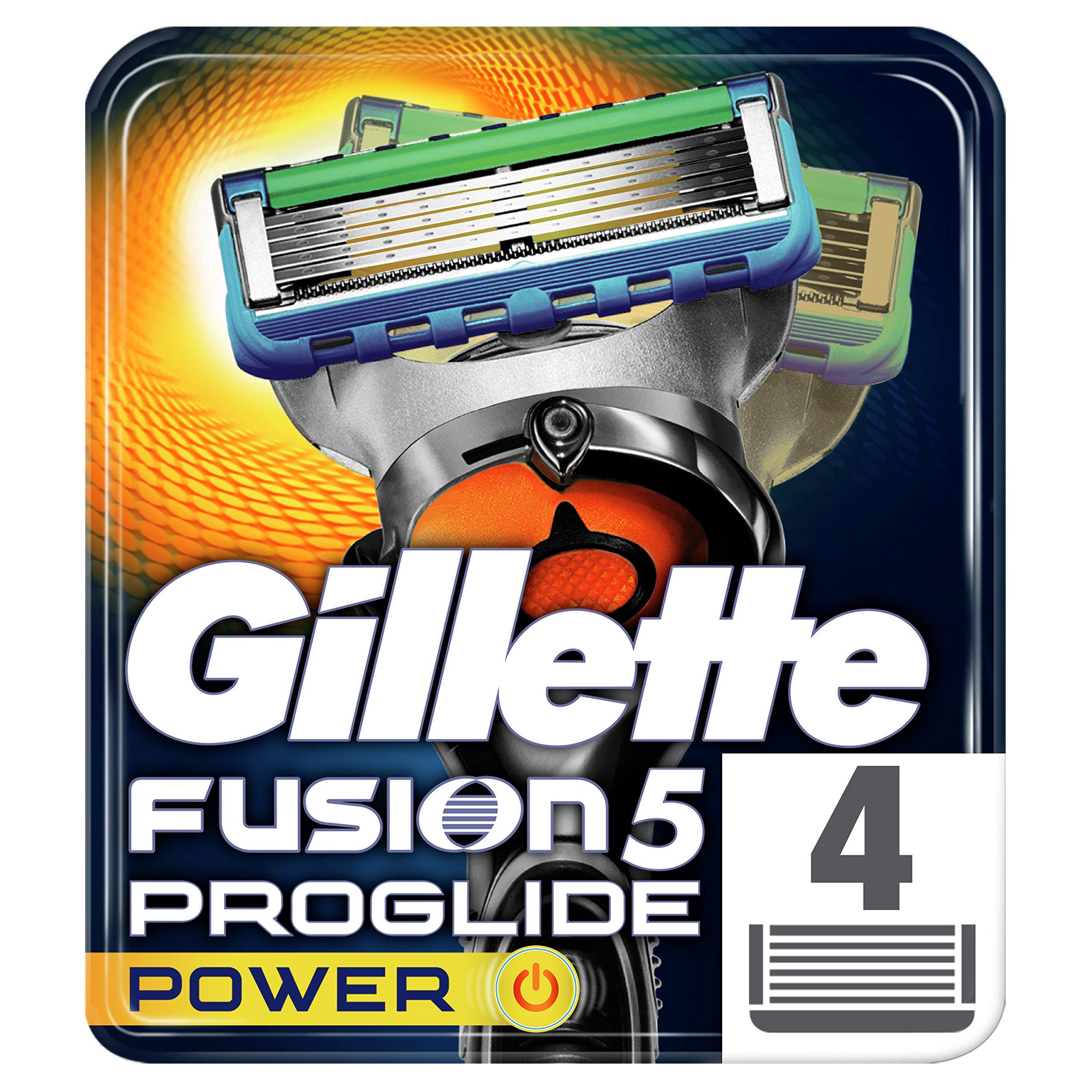 Gillette Fusion ProGlide Power Men's Razor Blades, 4 Blades product image