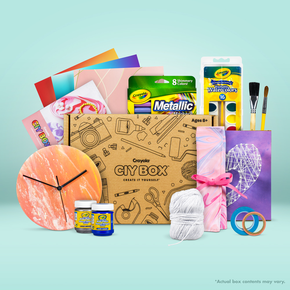 Crayola CIY Monthly Subscription Box - Create It Yourself