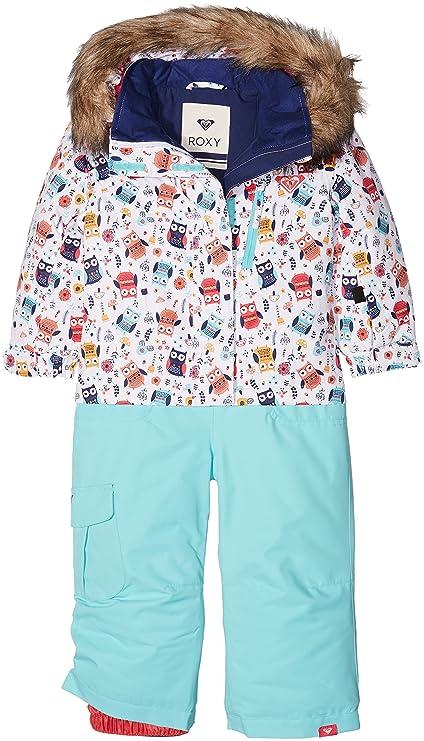 Roxy Paradise Suit - Traje de esquí para niña Little Owl Bright ...