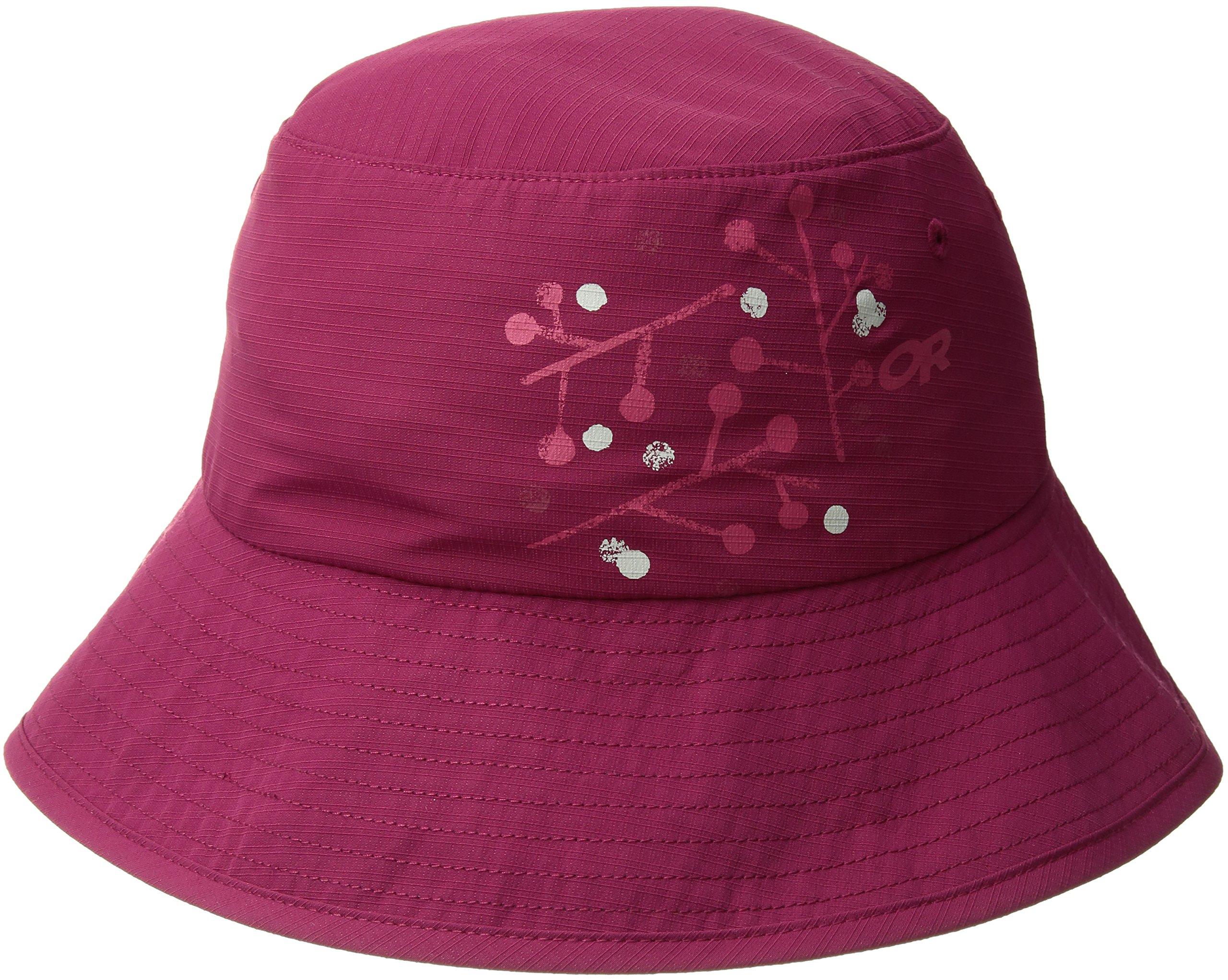 Outdoor Research Women's Solaris Sun Bucket Hat, Raspberry, Large