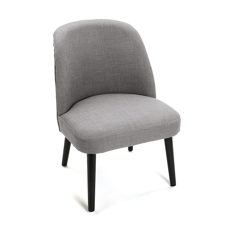 Versa Chaise - tissu - gris clair - 52.5 x 57.5 x 71 cm