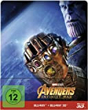 Avengers - Infinity War - Steelbook/Limited Edition (+ Blu-ray 2D) [Alemania] [Blu-ray]