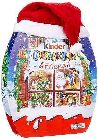 Kinder Weihnachtskalender.Kinder Uberraschung Und Friends Adventskalender 1er Pack 1 X 431 G