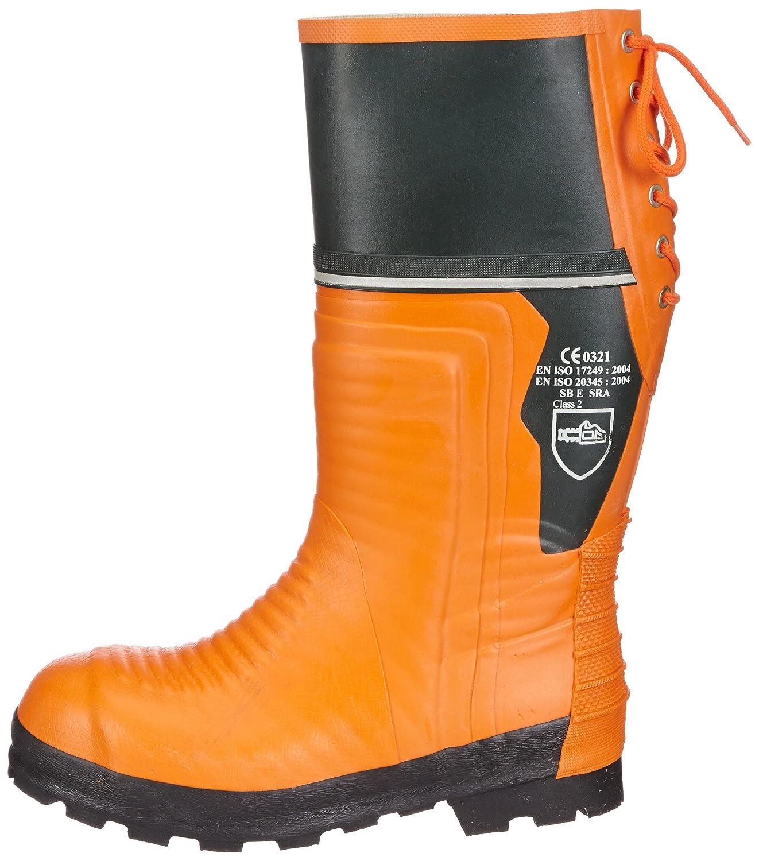 Schnittschutz-Gummistiefel - Botas de Goma con protección contra Cortes para Hombre: Amazon.es: Zapatos y complementos