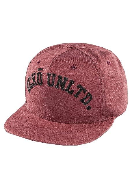 ECKO UNLTD Gorra Snapback Mezcla College - Rojo, talla única ...