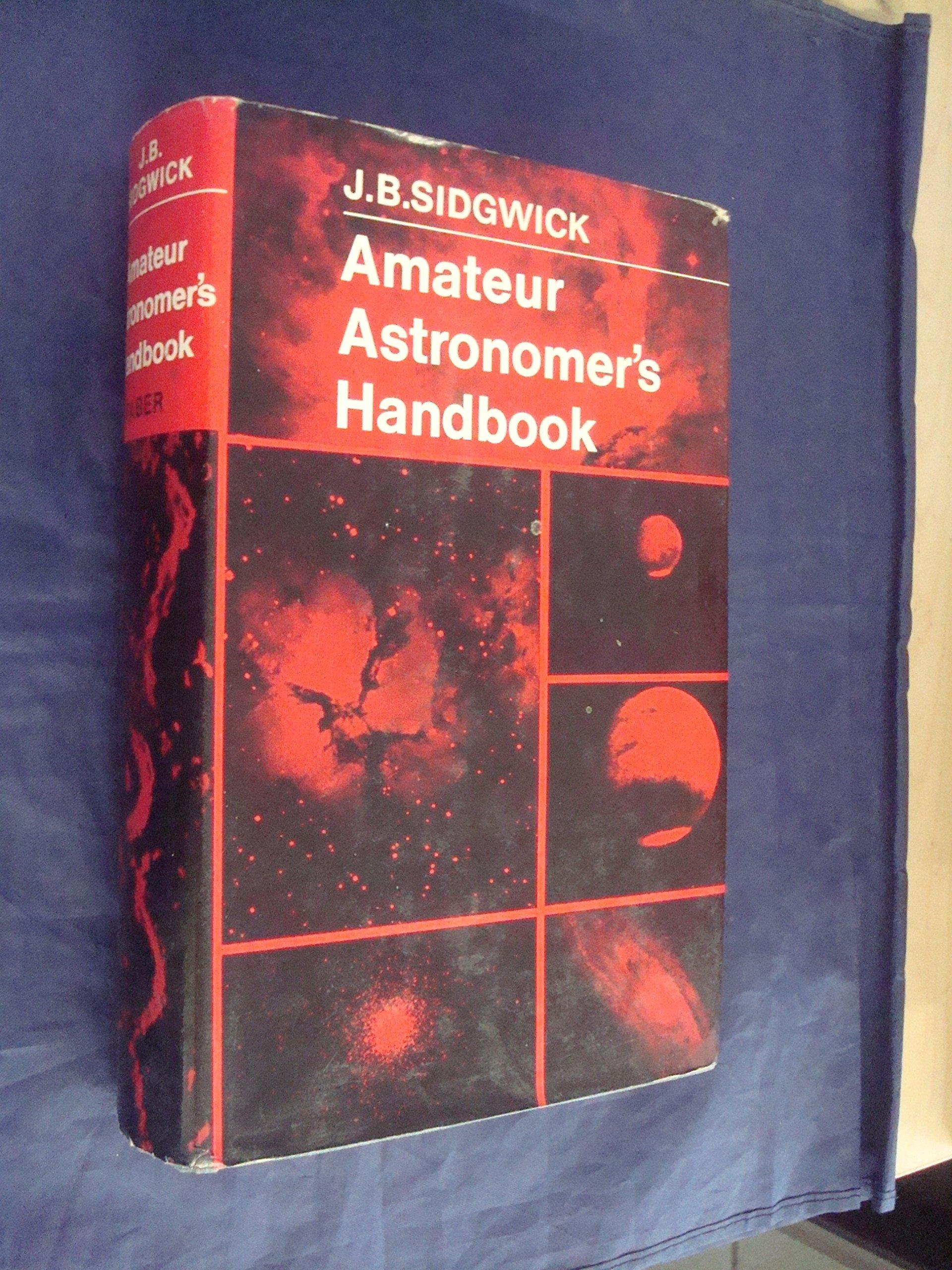 Amateur Astronomer's Handbook, Sidgwick, J.B.