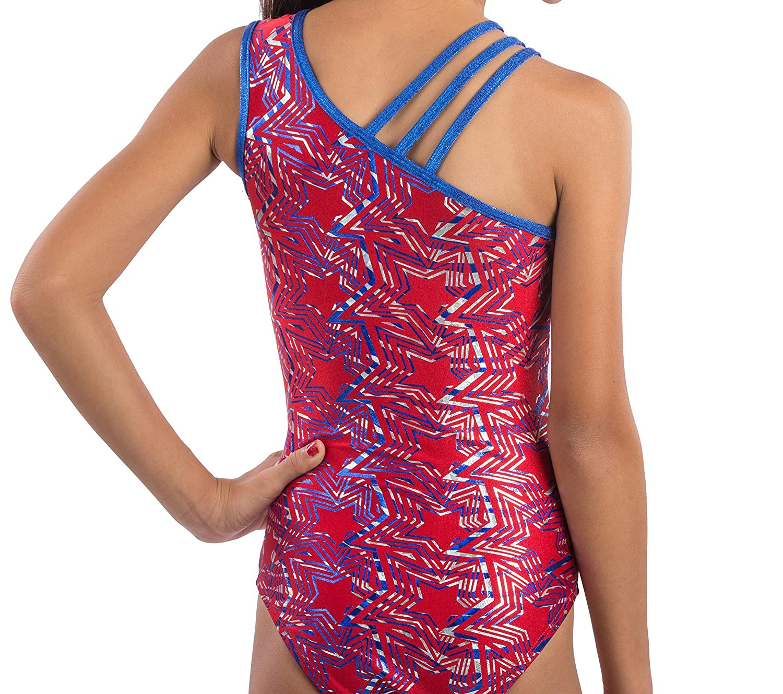 c4c552709412 Amazon.com  Lizatards Leotard Americana Girls XS (4)  Clothing