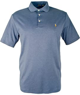 9bff5500 RALPH LAUREN Big and Tall Soft-touch Pima Cotton Polo Shirt Classic-Fit
