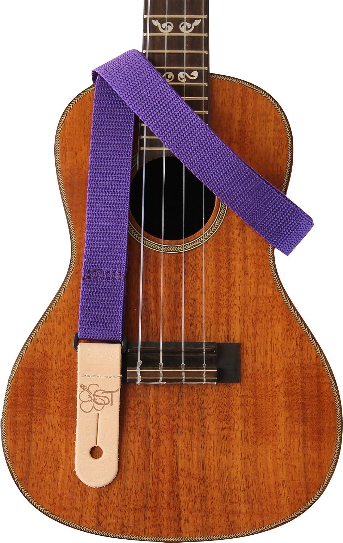 Beige Sherrins Threads 1 Poly Ukulele//Mandolin Strap