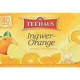 Teehaus Ingwer-Orange 40er, 4er Pack (4 x 60 g)
