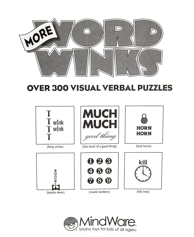 Workbooks buckle down workbooks : Amazon.com: More Word Winks: Mindware: Toys & Games