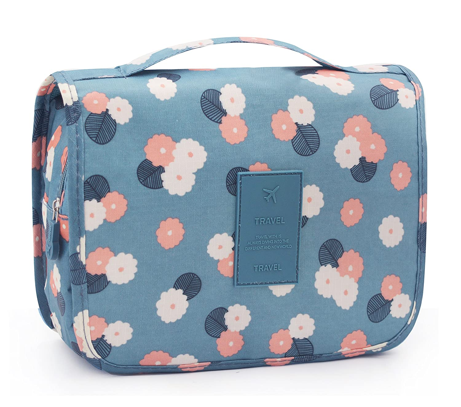 326934c3afca Portable Hanging Travel Toiletry Bag Waterproof Makeup Organizer Cosmetic  Bag Pouch For Women Girl