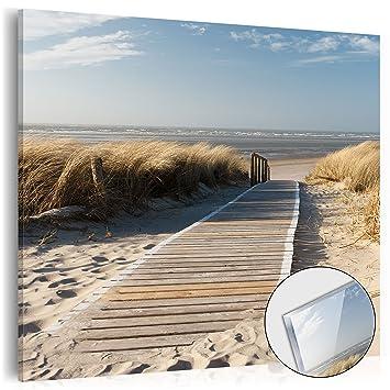 murando - acrylglasbild natur 40x40 cm - glasbilder - wandbilder ... - Glasbilder Xxl Küche