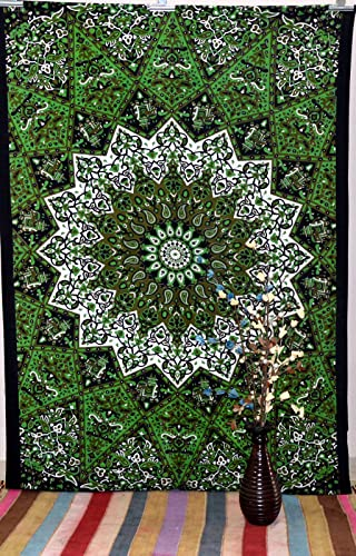 Mandala Indian Twin Wall Tapestry Throw Tapestries Hippie Wall Hanging Bed Cover Art