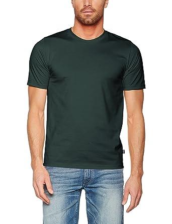 Trigema Damen T-Shirt Deluxe Baumwolle, Grün (Tanne 053), Small