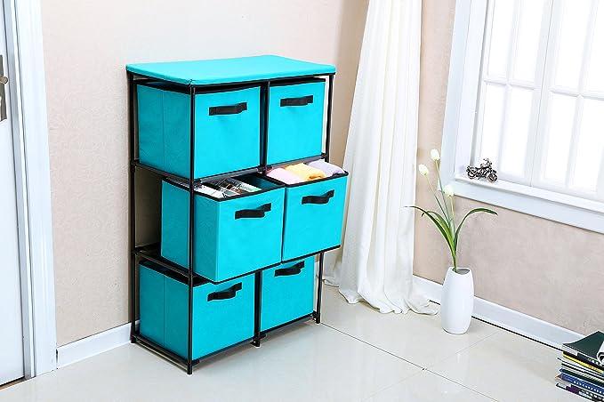 Amazon.com: Homebi - Cajonera de almacenamiento con cajón ...