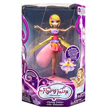 Flutterbyetm flying flower fairy amazon toys games flutterbye flying flower fairy mightylinksfo