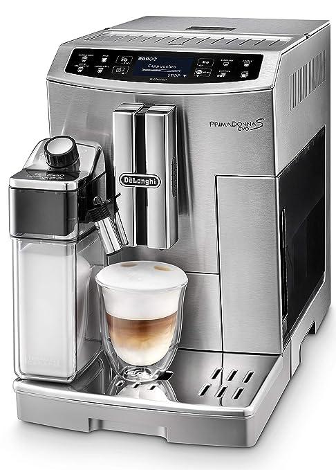 DeLonghi ECAM 510.55.M PrimaDonna S EVO Cafetera Automática ...